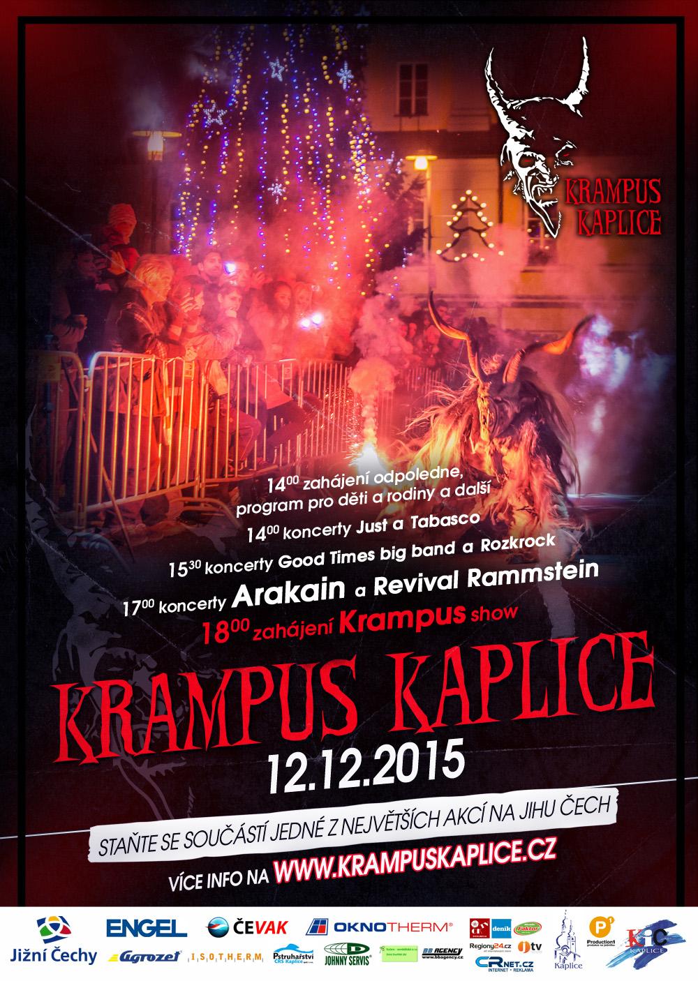Krampus Kaplice 2015